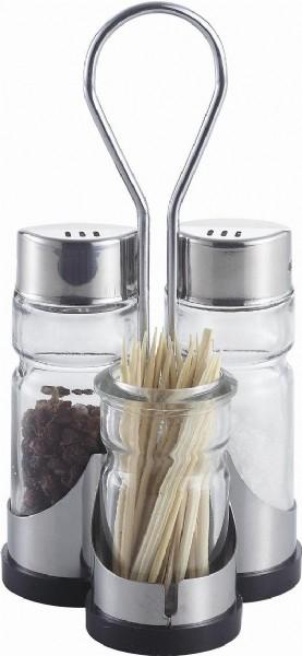 Salt pepper shaker toothpick holder shaker from kinghao houseware ltd - Toothpick shaker ...